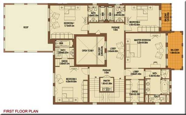 St marks estate agents for Floor plans zulal lakes dubai
